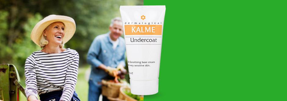 Undercoat Moisturiser - Designed to reduce the sensitivity of skin.